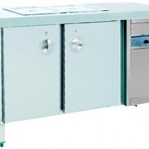 Servis Buzdolabı(Soğutucu ve GN 1/15mm. Kap Dahil)